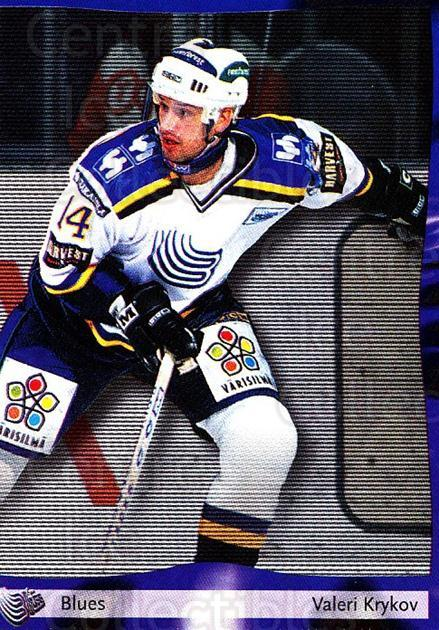 2002-03 Finnish Cardset #46 Valeri Krykov<br/>8 In Stock - $2.00 each - <a href=https://centericecollectibles.foxycart.com/cart?name=2002-03%20Finnish%20Cardset%20%2346%20Valeri%20Krykov...&quantity_max=8&price=$2.00&code=163816 class=foxycart> Buy it now! </a>