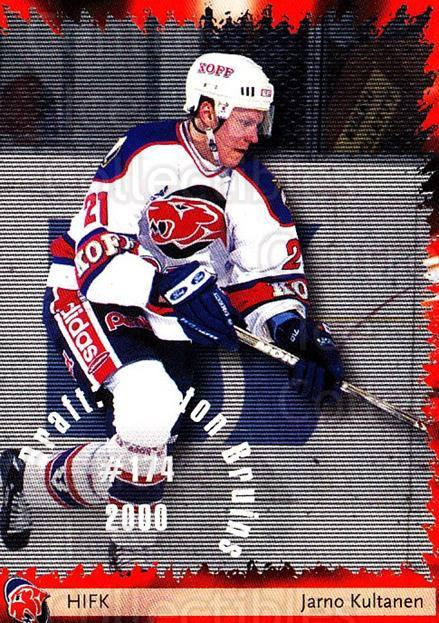 2002-03 Finnish Cardset #49 Jarno Kultanen<br/>7 In Stock - $2.00 each - <a href=https://centericecollectibles.foxycart.com/cart?name=2002-03%20Finnish%20Cardset%20%2349%20Jarno%20Kultanen...&quantity_max=7&price=$2.00&code=163819 class=foxycart> Buy it now! </a>