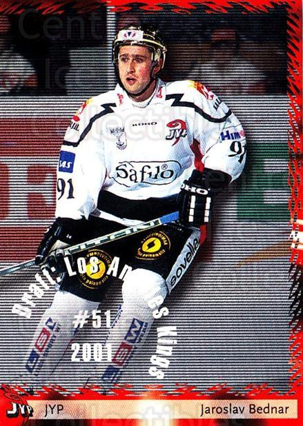 2002-03 Finnish Cardset #5 Jaroslav Bednar<br/>1 In Stock - $2.00 each - <a href=https://centericecollectibles.foxycart.com/cart?name=2002-03%20Finnish%20Cardset%20%235%20Jaroslav%20Bednar...&quantity_max=1&price=$2.00&code=163820 class=foxycart> Buy it now! </a>