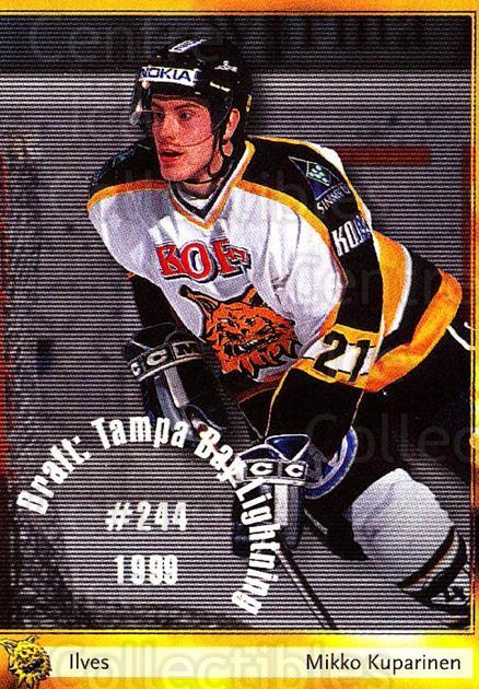 2002-03 Finnish Cardset #50 Mikko Kuparinen<br/>6 In Stock - $2.00 each - <a href=https://centericecollectibles.foxycart.com/cart?name=2002-03%20Finnish%20Cardset%20%2350%20Mikko%20Kuparinen...&quantity_max=6&price=$2.00&code=163821 class=foxycart> Buy it now! </a>