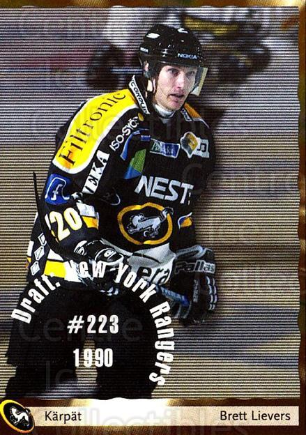 2002-03 Finnish Cardset #60 Brett Lievers<br/>7 In Stock - $2.00 each - <a href=https://centericecollectibles.foxycart.com/cart?name=2002-03%20Finnish%20Cardset%20%2360%20Brett%20Lievers...&quantity_max=7&price=$2.00&code=163832 class=foxycart> Buy it now! </a>