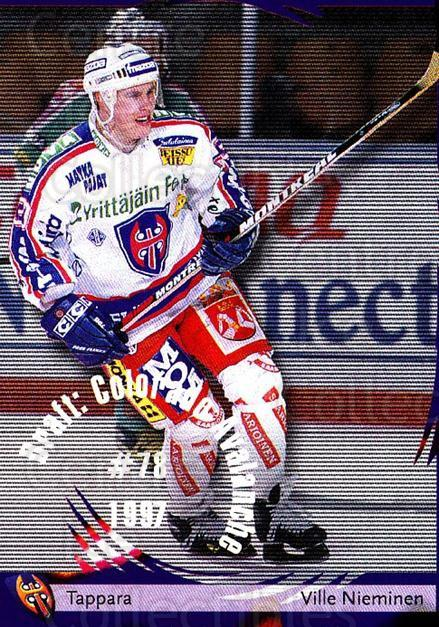 2002-03 Finnish Cardset #80 Ville Nieminen<br/>4 In Stock - $2.00 each - <a href=https://centericecollectibles.foxycart.com/cart?name=2002-03%20Finnish%20Cardset%20%2380%20Ville%20Nieminen...&quantity_max=4&price=$2.00&code=163853 class=foxycart> Buy it now! </a>