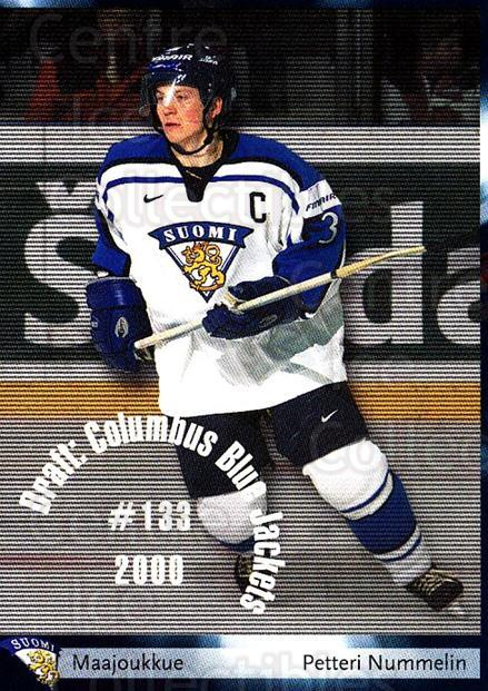 2002-03 Finnish Cardset #85 Petteri Nummelin<br/>4 In Stock - $2.00 each - <a href=https://centericecollectibles.foxycart.com/cart?name=2002-03%20Finnish%20Cardset%20%2385%20Petteri%20Nummeli...&quantity_max=4&price=$2.00&code=163856 class=foxycart> Buy it now! </a>