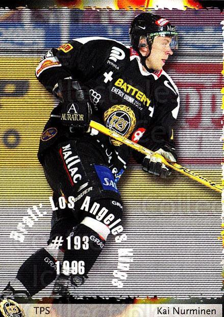 2002-03 Finnish Cardset #86 Kai Nurminen<br/>7 In Stock - $2.00 each - <a href=https://centericecollectibles.foxycart.com/cart?name=2002-03%20Finnish%20Cardset%20%2386%20Kai%20Nurminen...&quantity_max=7&price=$2.00&code=163857 class=foxycart> Buy it now! </a>