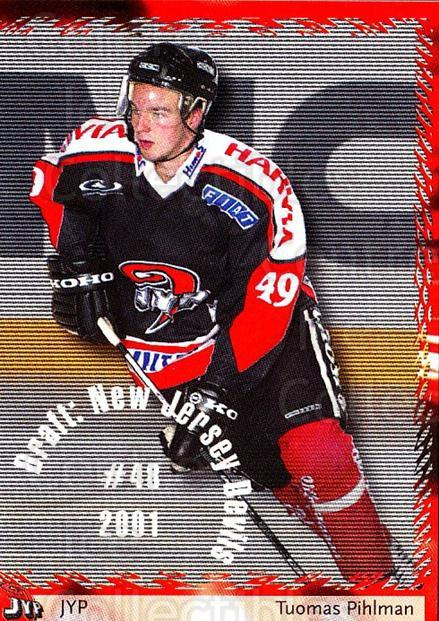 2002-03 Finnish Cardset #94 Tuomas Pihlman<br/>7 In Stock - $2.00 each - <a href=https://centericecollectibles.foxycart.com/cart?name=2002-03%20Finnish%20Cardset%20%2394%20Tuomas%20Pihlman...&quantity_max=7&price=$2.00&code=163866 class=foxycart> Buy it now! </a>
