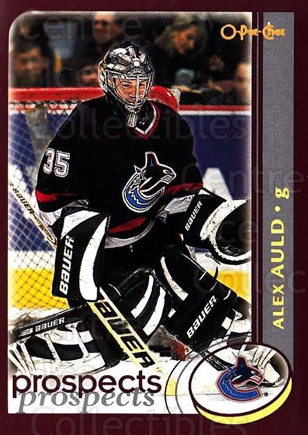 2002-03 O-Pee-Chee Factory #271 Alex Auld<br/>7 In Stock - $1.00 each - <a href=https://centericecollectibles.foxycart.com/cart?name=2002-03%20O-Pee-Chee%20Factory%20%23271%20Alex%20Auld...&quantity_max=7&price=$1.00&code=164023 class=foxycart> Buy it now! </a>