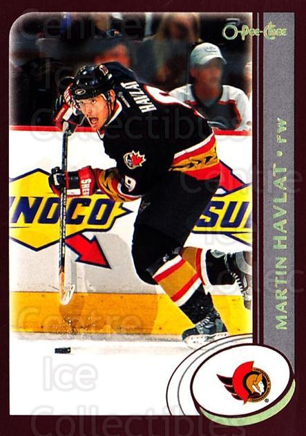 2002-03 O-Pee-Chee Factory #49 Martin Havlat<br/>7 In Stock - $1.00 each - <a href=https://centericecollectibles.foxycart.com/cart?name=2002-03%20O-Pee-Chee%20Factory%20%2349%20Martin%20Havlat...&quantity_max=7&price=$1.00&code=164103 class=foxycart> Buy it now! </a>