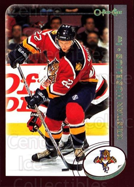 2002-03 O-Pee-Chee Factory #86 Kristian Huselius<br/>7 In Stock - $1.00 each - <a href=https://centericecollectibles.foxycart.com/cart?name=2002-03%20O-Pee-Chee%20Factory%20%2386%20Kristian%20Huseli...&quantity_max=7&price=$1.00&code=164144 class=foxycart> Buy it now! </a>