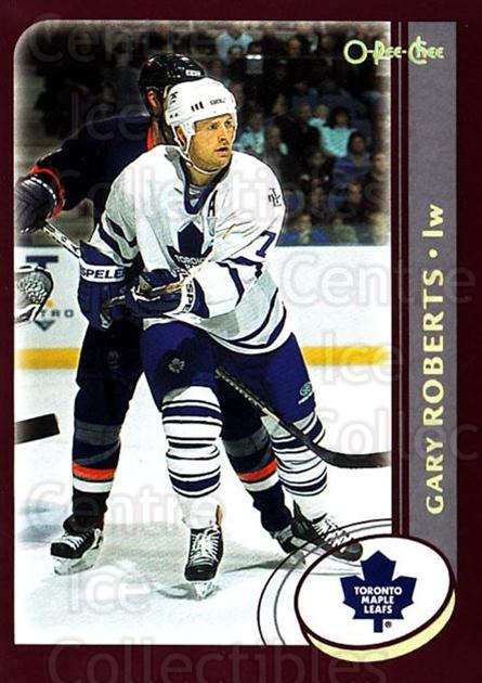 2002-03 O-Pee-Chee Factory #88 Gary Roberts<br/>7 In Stock - $1.00 each - <a href=https://centericecollectibles.foxycart.com/cart?name=2002-03%20O-Pee-Chee%20Factory%20%2388%20Gary%20Roberts...&quantity_max=7&price=$1.00&code=164146 class=foxycart> Buy it now! </a>