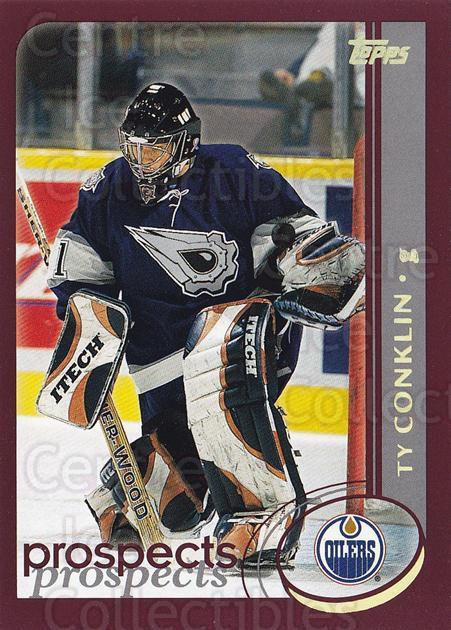 2002-03 Topps Factory #312 Ty Conklin<br/>6 In Stock - $1.00 each - <a href=https://centericecollectibles.foxycart.com/cart?name=2002-03%20Topps%20Factory%20%23312%20Ty%20Conklin...&quantity_max=6&price=$1.00&code=164365 class=foxycart> Buy it now! </a>