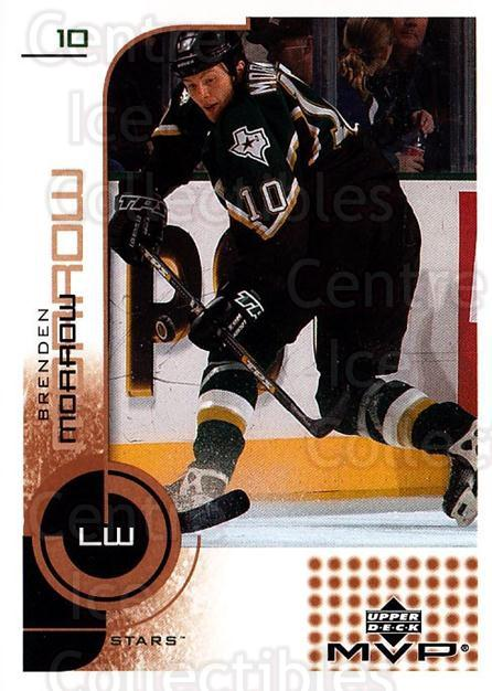 2002-03 Upper Deck MVP #61 Brenden Morrow<br/>7 In Stock - $1.00 each - <a href=https://centericecollectibles.foxycart.com/cart?name=2002-03%20Upper%20Deck%20MVP%20%2361%20Brenden%20Morrow...&quantity_max=7&price=$1.00&code=164487 class=foxycart> Buy it now! </a>