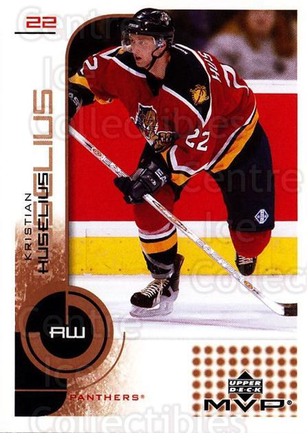 2002-03 Upper Deck MVP #77 Kristian Huselius<br/>5 In Stock - $1.00 each - <a href=https://centericecollectibles.foxycart.com/cart?name=2002-03%20Upper%20Deck%20MVP%20%2377%20Kristian%20Huseli...&quantity_max=5&price=$1.00&code=164503 class=foxycart> Buy it now! </a>