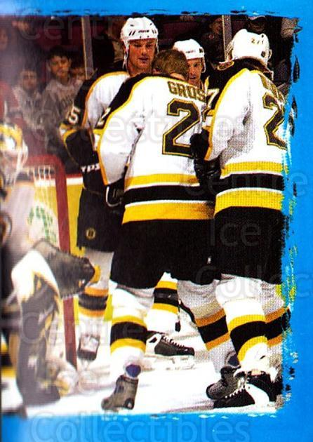 2003-04 Panini Stickers #25 Martin Lapointe, Hal Gill, Felix Potvin, Boston Bruins<br/>4 In Stock - $1.00 each - <a href=https://centericecollectibles.foxycart.com/cart?name=2003-04%20Panini%20Stickers%20%2325%20Martin%20Lapointe...&quantity_max=4&price=$1.00&code=164751 class=foxycart> Buy it now! </a>