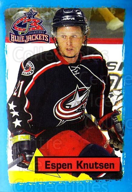2003-04 Panini Stickers #251 Espen Knutsen<br/>7 In Stock - $1.00 each - <a href=https://centericecollectibles.foxycart.com/cart?name=2003-04%20Panini%20Stickers%20%23251%20Espen%20Knutsen...&quantity_max=7&price=$1.00&code=164753 class=foxycart> Buy it now! </a>
