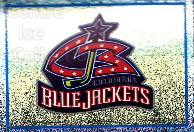 2003-04 Panini Stickers #254 Columbus Blue Jackets<br/>9 In Stock - $1.00 each - <a href=https://centericecollectibles.foxycart.com/cart?name=2003-04%20Panini%20Stickers%20%23254%20Columbus%20Blue%20J...&quantity_max=9&price=$1.00&code=164756 class=foxycart> Buy it now! </a>