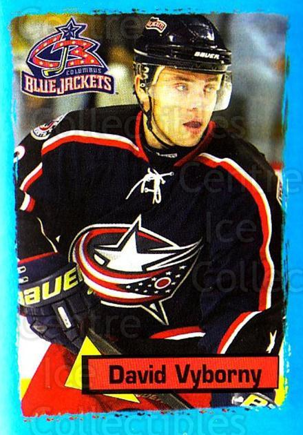 2003-04 Panini Stickers #258 David Vyborny<br/>7 In Stock - $1.00 each - <a href=https://centericecollectibles.foxycart.com/cart?name=2003-04%20Panini%20Stickers%20%23258%20David%20Vyborny...&quantity_max=7&price=$1.00&code=164760 class=foxycart> Buy it now! </a>
