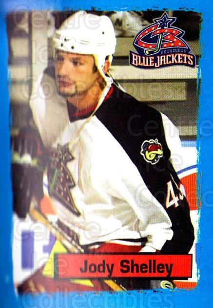 2003-04 Panini Stickers #259 Jody Shelley<br/>9 In Stock - $1.00 each - <a href=https://centericecollectibles.foxycart.com/cart?name=2003-04%20Panini%20Stickers%20%23259%20Jody%20Shelley...&quantity_max=9&price=$1.00&code=164761 class=foxycart> Buy it now! </a>
