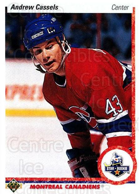 1990-91 Upper Deck #265 Andrew Cassels<br/>4 In Stock - $1.00 each - <a href=https://centericecollectibles.foxycart.com/cart?name=1990-91%20Upper%20Deck%20%23265%20Andrew%20Cassels...&quantity_max=4&price=$1.00&code=16477 class=foxycart> Buy it now! </a>