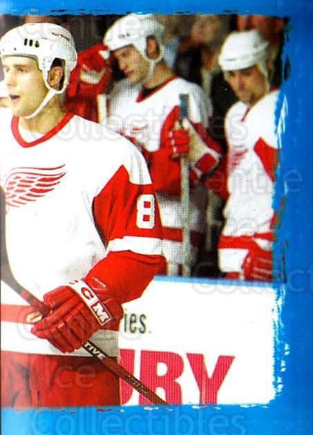 2003-04 Panini Stickers #285 Jiri Fischer, Detroit Red Wings<br/>4 In Stock - $1.00 each - <a href=https://centericecollectibles.foxycart.com/cart?name=2003-04%20Panini%20Stickers%20%23285%20Jiri%20Fischer,%20D...&quantity_max=4&price=$1.00&code=164787 class=foxycart> Buy it now! </a>
