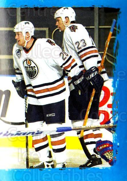 2003-04 Panini Stickers #292 Jason Smith, Cory Cross, Jason Chimera, Edmonton Oilers<br/>1 In Stock - $1.00 each - <a href=https://centericecollectibles.foxycart.com/cart?name=2003-04%20Panini%20Stickers%20%23292%20Jason%20Smith,%20Co...&quantity_max=1&price=$1.00&code=164794 class=foxycart> Buy it now! </a>