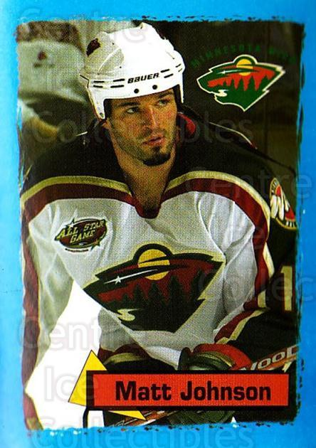 2003-04 Panini Stickers #320 Matt Johnson<br/>6 In Stock - $1.00 each - <a href=https://centericecollectibles.foxycart.com/cart?name=2003-04%20Panini%20Stickers%20%23320%20Matt%20Johnson...&quantity_max=6&price=$1.00&code=164825 class=foxycart> Buy it now! </a>