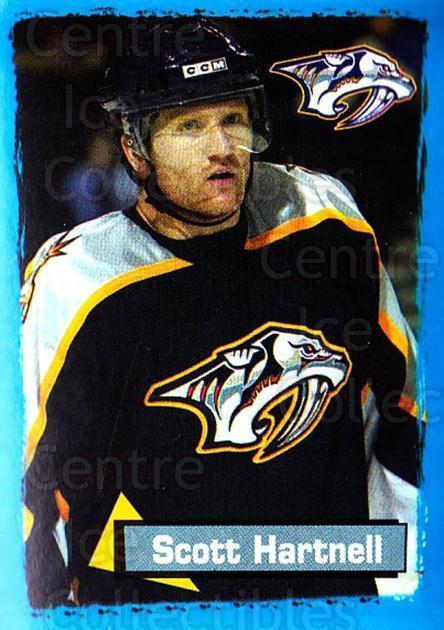 2003-04 Panini Stickers #335 Scott Hartnell<br/>10 In Stock - $1.00 each - <a href=https://centericecollectibles.foxycart.com/cart?name=2003-04%20Panini%20Stickers%20%23335%20Scott%20Hartnell...&quantity_max=10&price=$1.00&code=164841 class=foxycart> Buy it now! </a>