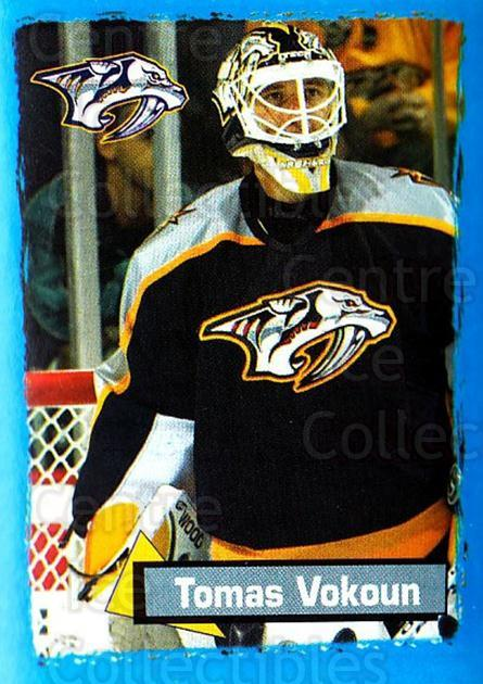 2003-04 Panini Stickers #336 Tomas Vokoun<br/>4 In Stock - $1.00 each - <a href=https://centericecollectibles.foxycart.com/cart?name=2003-04%20Panini%20Stickers%20%23336%20Tomas%20Vokoun...&quantity_max=4&price=$1.00&code=164842 class=foxycart> Buy it now! </a>