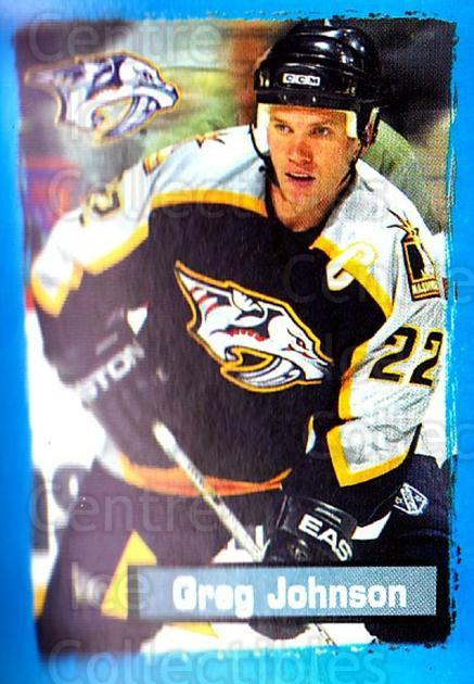 2003-04 Panini Stickers #337 Greg Johnson<br/>9 In Stock - $1.00 each - <a href=https://centericecollectibles.foxycart.com/cart?name=2003-04%20Panini%20Stickers%20%23337%20Greg%20Johnson...&quantity_max=9&price=$1.00&code=164843 class=foxycart> Buy it now! </a>