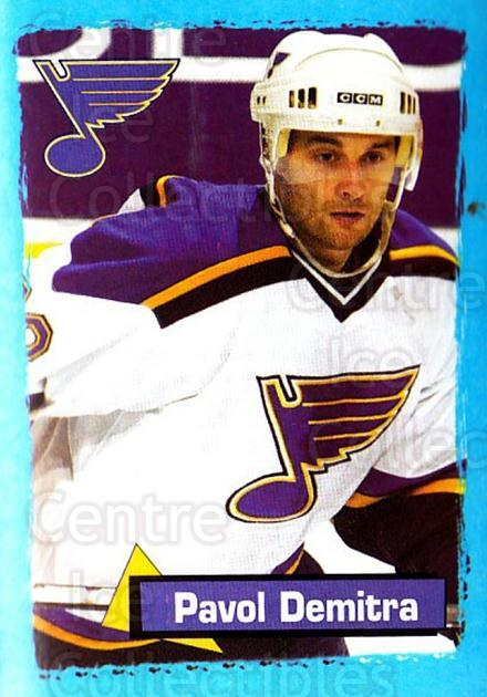 2003-04 Panini Stickers #360 Pavol Demitra<br/>9 In Stock - $1.00 each - <a href=https://centericecollectibles.foxycart.com/cart?name=2003-04%20Panini%20Stickers%20%23360%20Pavol%20Demitra...&quantity_max=9&price=$1.00&code=164867 class=foxycart> Buy it now! </a>