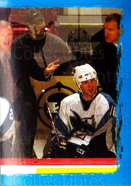 2003-04 Panini Stickers #373 Ron Wilson, Vincent Damphousse, Marco Sturm, Patrick Marleau, Mark Smith, Tim Hunter<br/>4 In Stock - $1.00 each - <a href=https://centericecollectibles.foxycart.com/cart?name=2003-04%20Panini%20Stickers%20%23373%20Ron%20Wilson,%20Vin...&quantity_max=4&price=$1.00&code=164881 class=foxycart> Buy it now! </a>