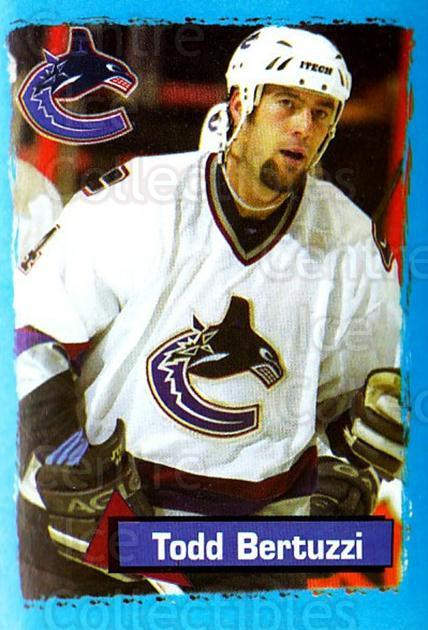 2003-04 Panini Stickers #378 Todd Bertuzzi<br/>10 In Stock - $1.00 each - <a href=https://centericecollectibles.foxycart.com/cart?name=2003-04%20Panini%20Stickers%20%23378%20Todd%20Bertuzzi...&quantity_max=10&price=$1.00&code=164886 class=foxycart> Buy it now! </a>
