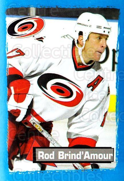 2003-04 Panini Stickers #40 Rod Brind'Amour<br/>3 In Stock - $1.00 each - <a href=https://centericecollectibles.foxycart.com/cart?name=2003-04%20Panini%20Stickers%20%2340%20Rod%20Brind'Amour...&quantity_max=3&price=$1.00&code=164901 class=foxycart> Buy it now! </a>