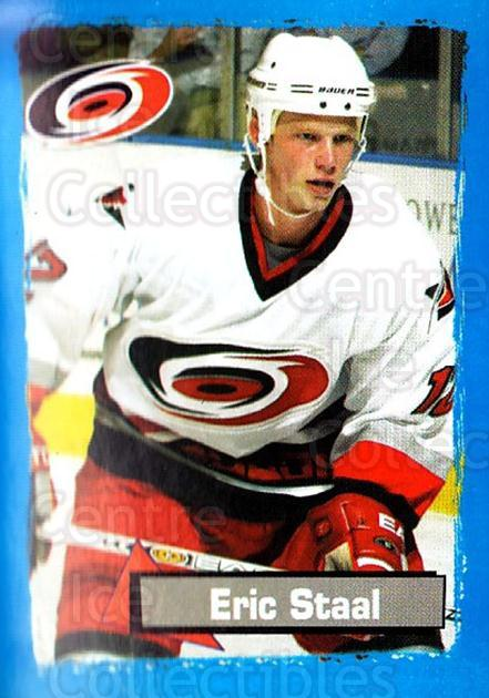 2003-04 Panini Stickers #43 Eric Staal<br/>7 In Stock - $1.00 each - <a href=https://centericecollectibles.foxycart.com/cart?name=2003-04%20Panini%20Stickers%20%2343%20Eric%20Staal...&quantity_max=7&price=$1.00&code=164904 class=foxycart> Buy it now! </a>