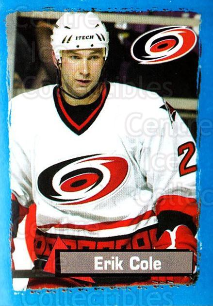 2003-04 Panini Stickers #47 Erik Cole<br/>6 In Stock - $1.00 each - <a href=https://centericecollectibles.foxycart.com/cart?name=2003-04%20Panini%20Stickers%20%2347%20Erik%20Cole...&quantity_max=6&price=$1.00&code=164908 class=foxycart> Buy it now! </a>
