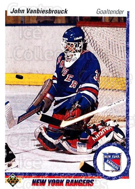 1990-91 Upper Deck #279 John Vanbiesbrouck<br/>4 In Stock - $1.00 each - <a href=https://centericecollectibles.foxycart.com/cart?name=1990-91%20Upper%20Deck%20%23279%20John%20Vanbiesbro...&quantity_max=4&price=$1.00&code=16490 class=foxycart> Buy it now! </a>
