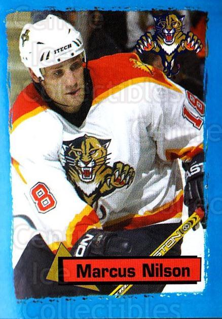 2003-04 Panini Stickers #55 Marcus Nilson<br/>3 In Stock - $1.00 each - <a href=https://centericecollectibles.foxycart.com/cart?name=2003-04%20Panini%20Stickers%20%2355%20Marcus%20Nilson...&quantity_max=3&price=$1.00&code=164917 class=foxycart> Buy it now! </a>