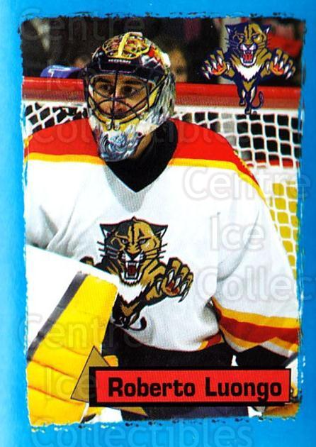 2003-04 Panini Stickers #64 Roberto Luongo<br/>1 In Stock - $2.00 each - <a href=https://centericecollectibles.foxycart.com/cart?name=2003-04%20Panini%20Stickers%20%2364%20Roberto%20Luongo...&quantity_max=1&price=$2.00&code=164927 class=foxycart> Buy it now! </a>