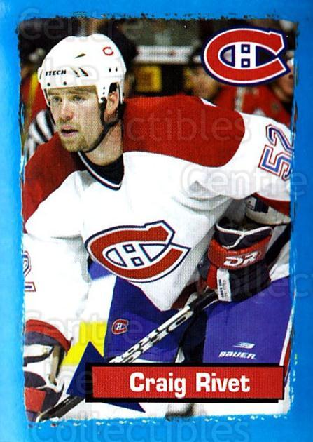 2003-04 Panini Stickers #71 Craig Rivet<br/>4 In Stock - $1.00 each - <a href=https://centericecollectibles.foxycart.com/cart?name=2003-04%20Panini%20Stickers%20%2371%20Craig%20Rivet...&quantity_max=4&price=$1.00&code=164934 class=foxycart> Buy it now! </a>