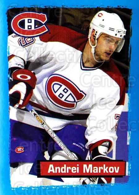 2003-04 Panini Stickers #78 Andrei Markov<br/>7 In Stock - $1.00 each - <a href=https://centericecollectibles.foxycart.com/cart?name=2003-04%20Panini%20Stickers%20%2378%20Andrei%20Markov...&quantity_max=7&price=$1.00&code=164941 class=foxycart> Buy it now! </a>