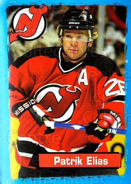 2003-04 Panini Stickers #79 Patrik Elias<br/>5 In Stock - $1.00 each - <a href=https://centericecollectibles.foxycart.com/cart?name=2003-04%20Panini%20Stickers%20%2379%20Patrik%20Elias...&quantity_max=5&price=$1.00&code=164942 class=foxycart> Buy it now! </a>