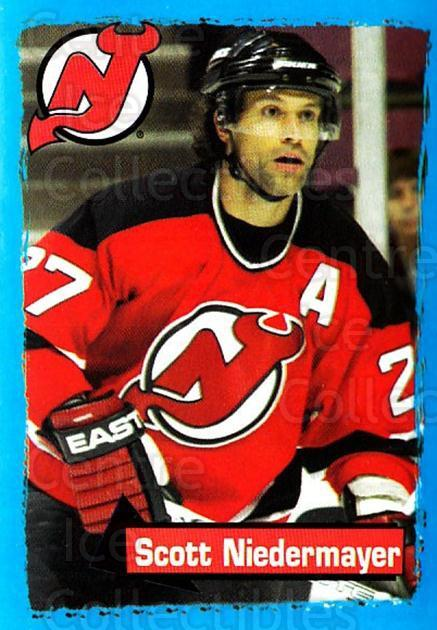2003-04 Panini Stickers #84 Scott Niedermayer<br/>4 In Stock - $1.00 each - <a href=https://centericecollectibles.foxycart.com/cart?name=2003-04%20Panini%20Stickers%20%2384%20Scott%20Niedermay...&quantity_max=4&price=$1.00&code=164948 class=foxycart> Buy it now! </a>