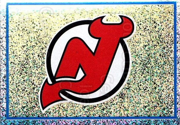 2003-04 Panini Stickers #85 New Jersey Devils<br/>10 In Stock - $1.00 each - <a href=https://centericecollectibles.foxycart.com/cart?name=2003-04%20Panini%20Stickers%20%2385%20New%20Jersey%20Devi...&quantity_max=10&price=$1.00&code=164949 class=foxycart> Buy it now! </a>