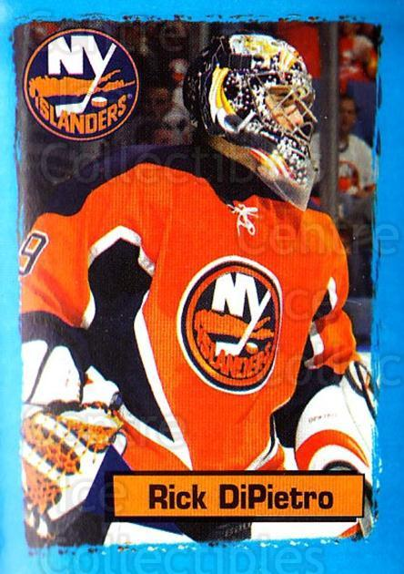 2003-04 Panini Stickers #93 Rick DiPietro<br/>6 In Stock - $1.00 each - <a href=https://centericecollectibles.foxycart.com/cart?name=2003-04%20Panini%20Stickers%20%2393%20Rick%20DiPietro...&quantity_max=6&price=$1.00&code=164957 class=foxycart> Buy it now! </a>