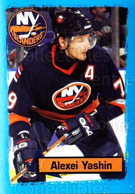 2003-04 Panini Stickers #94 Alexei Yashin<br/>7 In Stock - $1.00 each - <a href=https://centericecollectibles.foxycart.com/cart?name=2003-04%20Panini%20Stickers%20%2394%20Alexei%20Yashin...&quantity_max=7&price=$1.00&code=164958 class=foxycart> Buy it now! </a>