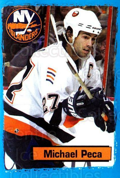 2003-04 Panini Stickers #96 Mike Peca<br/>5 In Stock - $1.00 each - <a href=https://centericecollectibles.foxycart.com/cart?name=2003-04%20Panini%20Stickers%20%2396%20Mike%20Peca...&quantity_max=5&price=$1.00&code=164960 class=foxycart> Buy it now! </a>