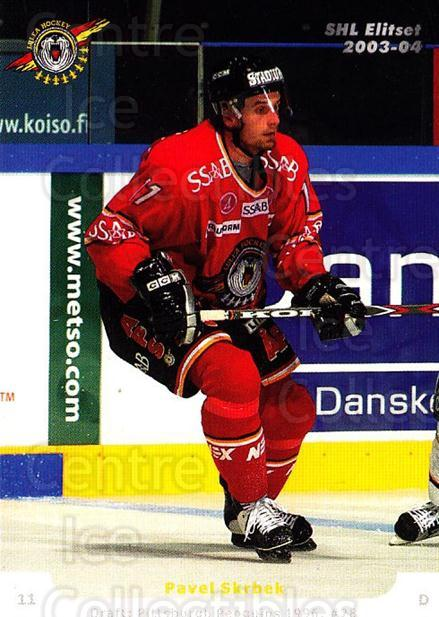 2003-04 Swedish Elitset #81 Pavel Skrbek<br/>1 In Stock - $2.00 each - <a href=https://centericecollectibles.foxycart.com/cart?name=2003-04%20Swedish%20Elitset%20%2381%20Pavel%20Skrbek...&quantity_max=1&price=$2.00&code=165113 class=foxycart> Buy it now! </a>