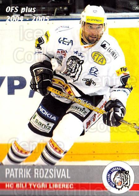 2004-05 Czech OFS #79 Patrik Rozsival<br/>3 In Stock - $2.00 each - <a href=https://centericecollectibles.foxycart.com/cart?name=2004-05%20Czech%20OFS%20%2379%20Patrik%20Rozsival...&quantity_max=3&price=$2.00&code=165239 class=foxycart> Buy it now! </a>