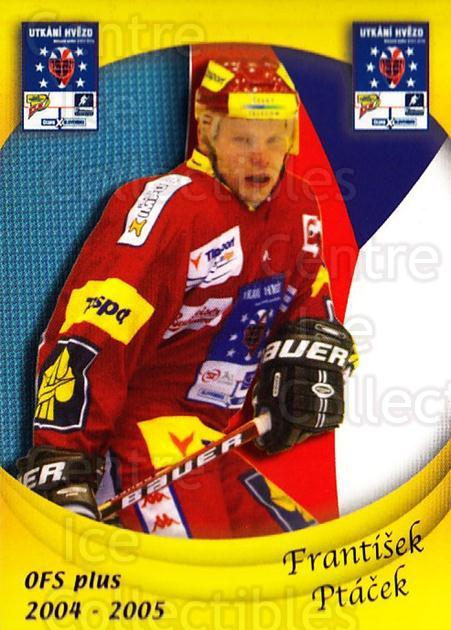 2004-05 Czech OFS Czech/Slovak AS Game #11 Frantisek Ptacek<br/>3 In Stock - $2.00 each - <a href=https://centericecollectibles.foxycart.com/cart?name=2004-05%20Czech%20OFS%20Czech/Slovak%20AS%20Game%20%2311%20Frantisek%20Ptace...&quantity_max=3&price=$2.00&code=165255 class=foxycart> Buy it now! </a>