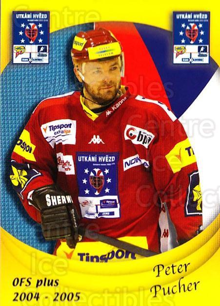 2004-05 Czech OFS Czech/Slovak AS Game #12 Peter Pucher<br/>7 In Stock - $2.00 each - <a href=https://centericecollectibles.foxycart.com/cart?name=2004-05%20Czech%20OFS%20Czech/Slovak%20AS%20Game%20%2312%20Peter%20Pucher...&quantity_max=7&price=$2.00&code=165256 class=foxycart> Buy it now! </a>