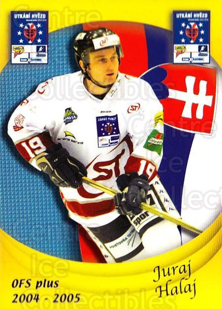 2004-05 Czech OFS Czech/Slovak AS Game #28 Juraj Halaj<br/>3 In Stock - $2.00 each - <a href=https://centericecollectibles.foxycart.com/cart?name=2004-05%20Czech%20OFS%20Czech/Slovak%20AS%20Game%20%2328%20Juraj%20Halaj...&quantity_max=3&price=$2.00&code=165262 class=foxycart> Buy it now! </a>